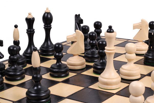 slim chess set folding
