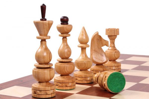 debiut chess set 19 inch