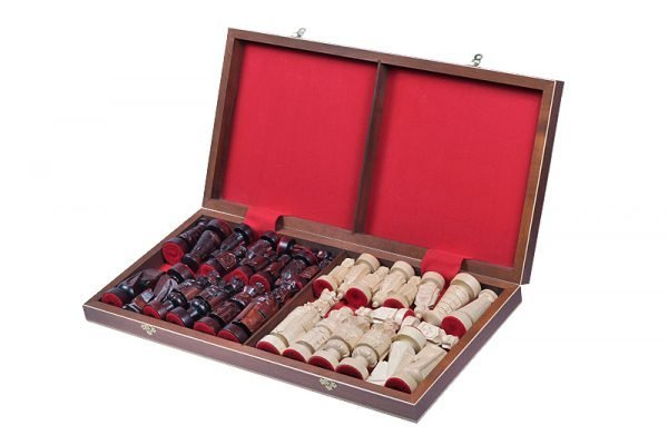 wooden chess set spanish