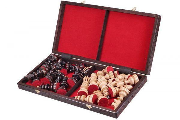 folding roman chess set
