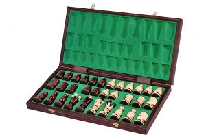 folding gothic chess set