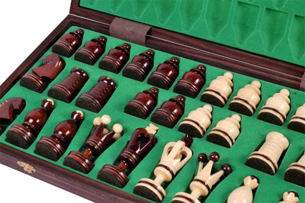 handmade gothic chess set