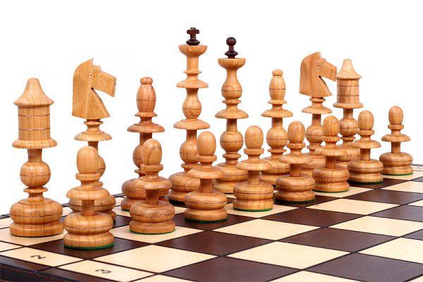 handmade polish chess set