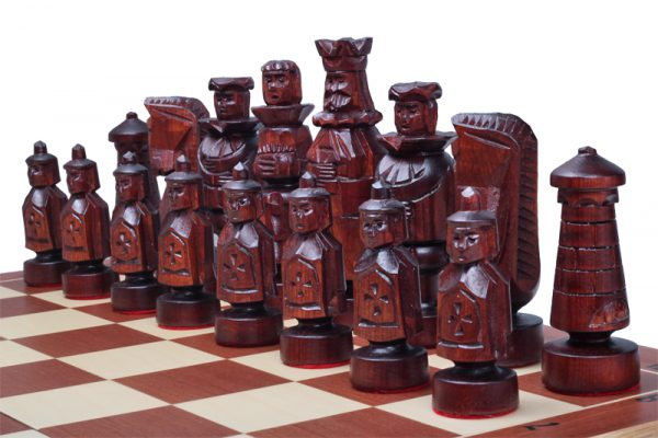 handmade spanish chess