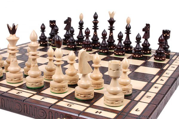 indian chess set handmade