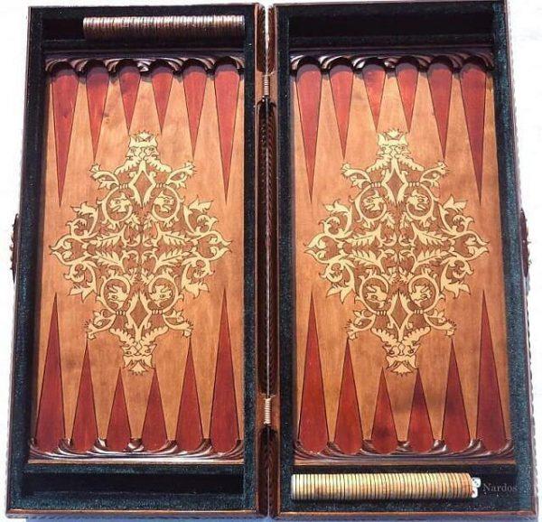 taj mahal backgammon set