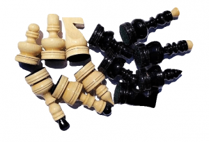 chess pieces handmade wooden