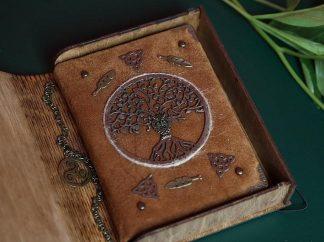 Handmade Suede Notebook