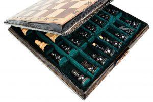 handmade luxury chess set
