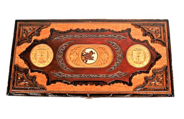 Big Backgammon Set