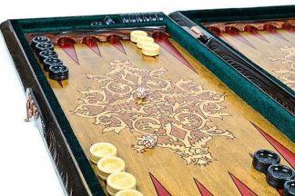 backgammon set handmade