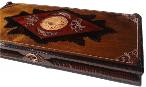 exclusive backgammon set