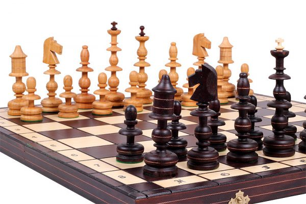 23 inch chess set polish wooden