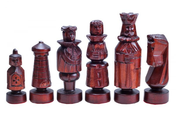 23 inch chess set spanish