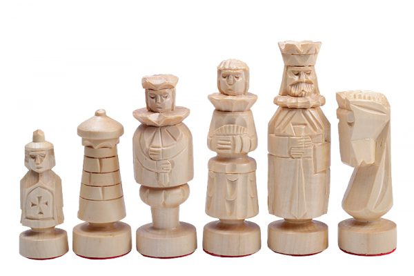 23 inch spanish chess set