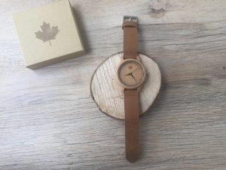 wooden watch