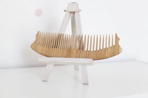 Big Wooden Hair Comb