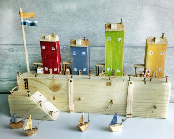 Seaside Wooden Houses
