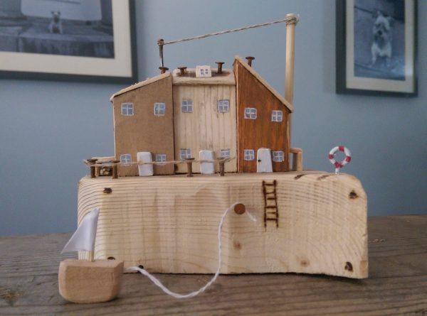 Wooden Coastal Cottage