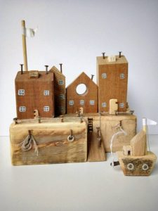 Little Wooden Cottages