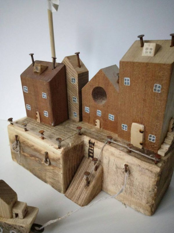 cool handmade wooden houses