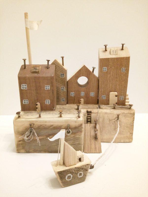 handmade wooden cottages for kids