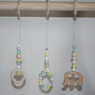 Infant Rattle Montessori Crib