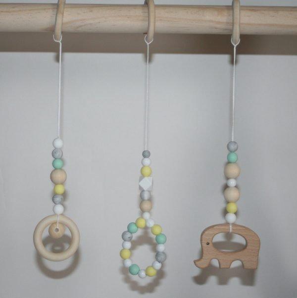 Infant Rattle Montessori Crib