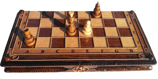 Classic Chess Backgammon