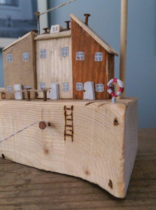 handmade wooden cottage