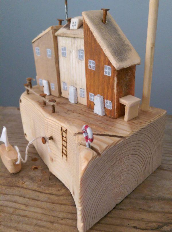 handmade wooden cottage for kids