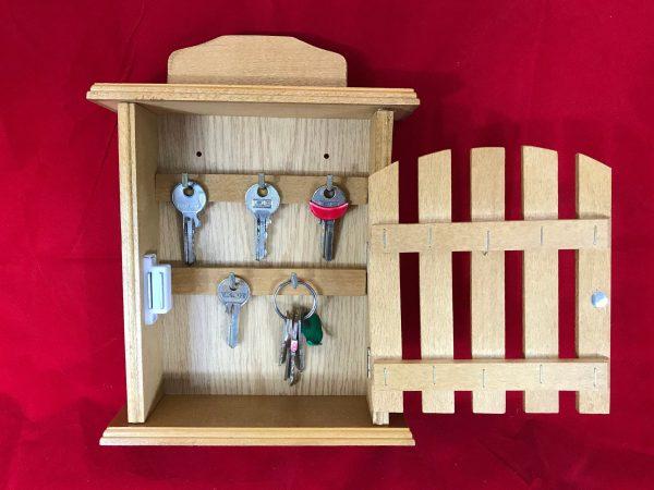 key box wooden