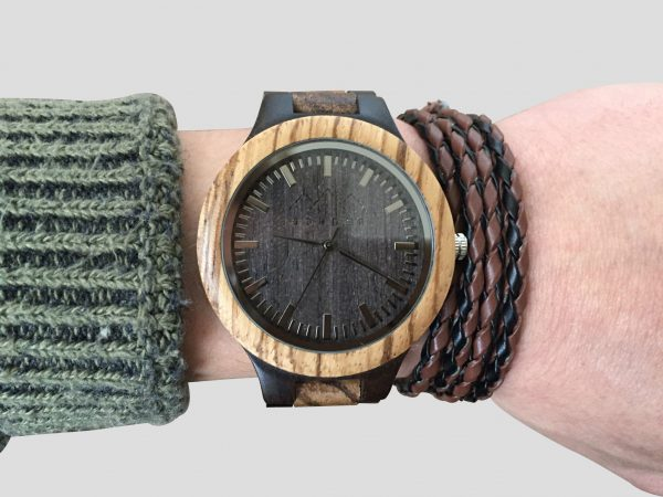 handmade wooden watch personalized