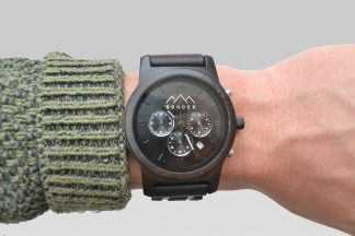 Mahogany Wooden Watch