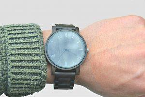 Black Wooden Watch