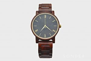 Cherry Wood Watch