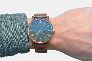 Cherry Wood Watch