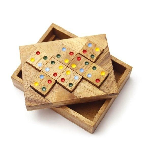 Matching Square Wooden Puzzle