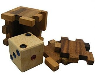 cube puzzle wooden