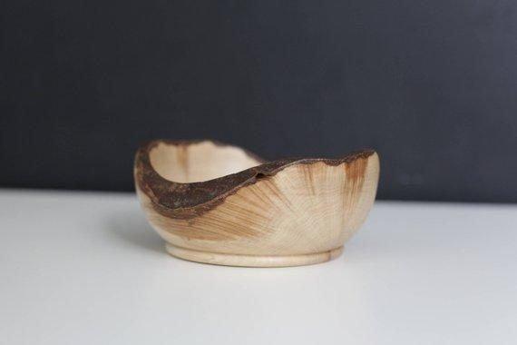 handmade wooden bowl beech