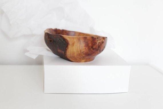 handmade plum bowl