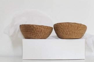 set of 2 handmade bowls
