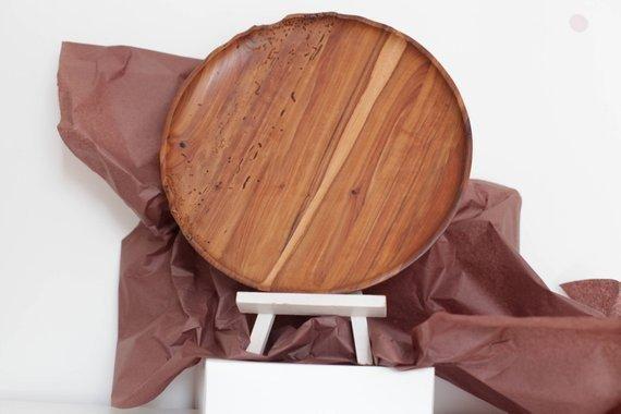 Apple Wood Plate