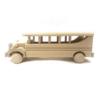 wooden bus toys
