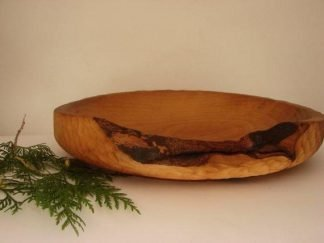 Large Beech Wood Plate