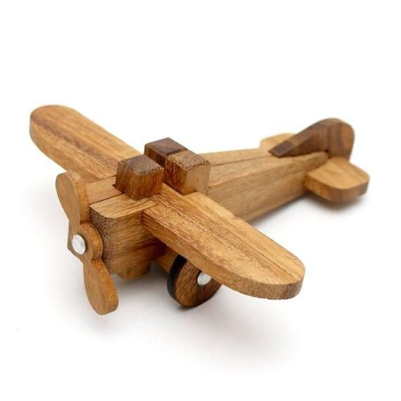 Airplane 3D Wooden Puzzle