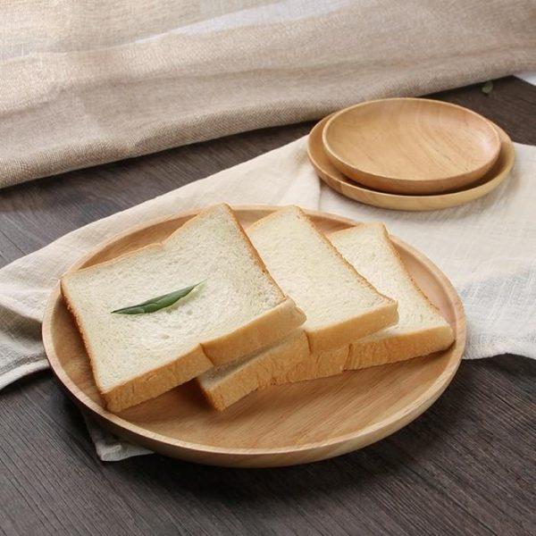 handmade wooden plates