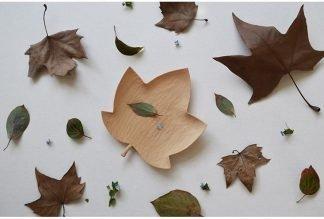 leaf shape dish plate