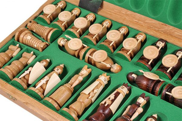 magnat chess set wooden