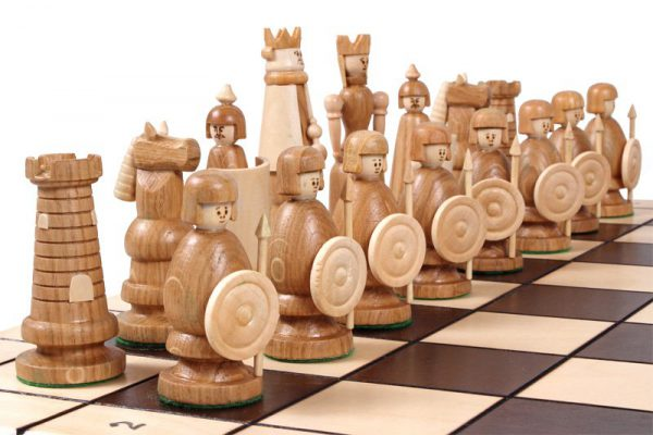 handmade folding magnat chess set